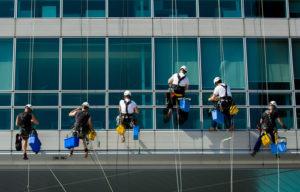 Mytí výškových budov