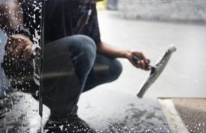 Mytí a čištění billboardů