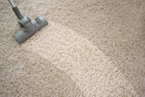 Vyčištěný koberec jako nový