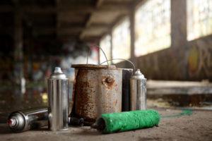 Jak přemalovat graffiti