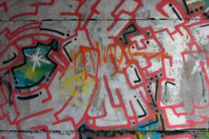 Graffiti v brněnských uličkách