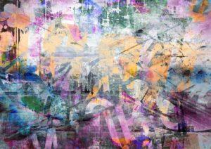 Abstraktní díla na ulicích