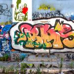 odstranění graffiti z fasády