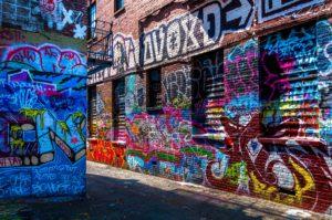 Odstranění graffiti v Brně