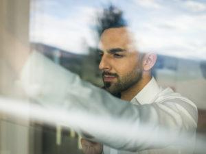 mytí oken v kancelářích