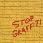 graffiti odstraňování ze stropu