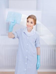 schopní pracovníci úklidové firmy