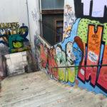 graffiti odstraňování ze stěn