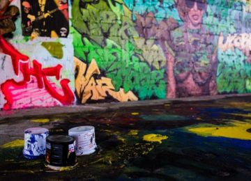 Praha čištění graffiti