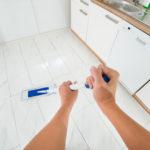čištění podlah v domácnosti