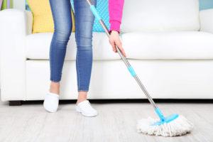 Čistota podlah na prvním místě