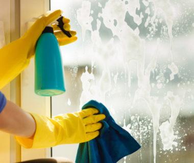 Košice okná, čistenie