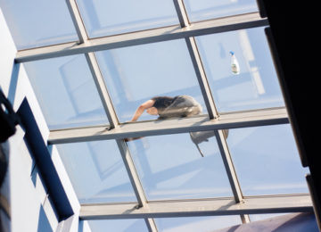 umývanie okien vo výške