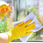 leštění oken suchou metodou