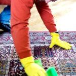 rychlé čištění koberců