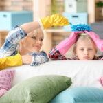 Tepování a čištění gaučů