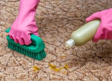 Strojové tepovanie, čistenie