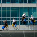 profesionálny výškové umývanie okien