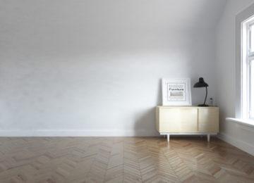 Odstranění černých šmouh z podlahy
