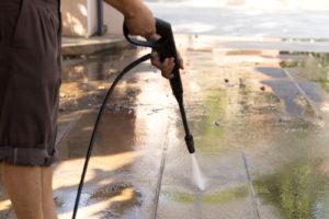 rychlé vyčištění podlahy