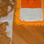 hloubkové čištění podlah