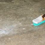 čištění dlažby