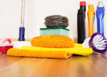 Garáže Brno, čištění podlah